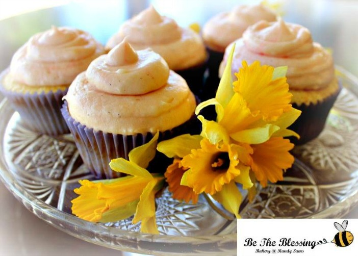 be blessing signature cupcake
