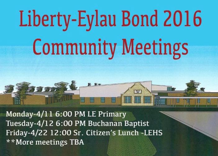le bond meetings schedule