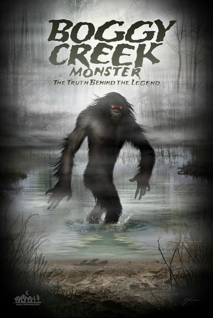 Boggy Creek Monster: The Truth Behind the Legend Poster / Sam Shearon