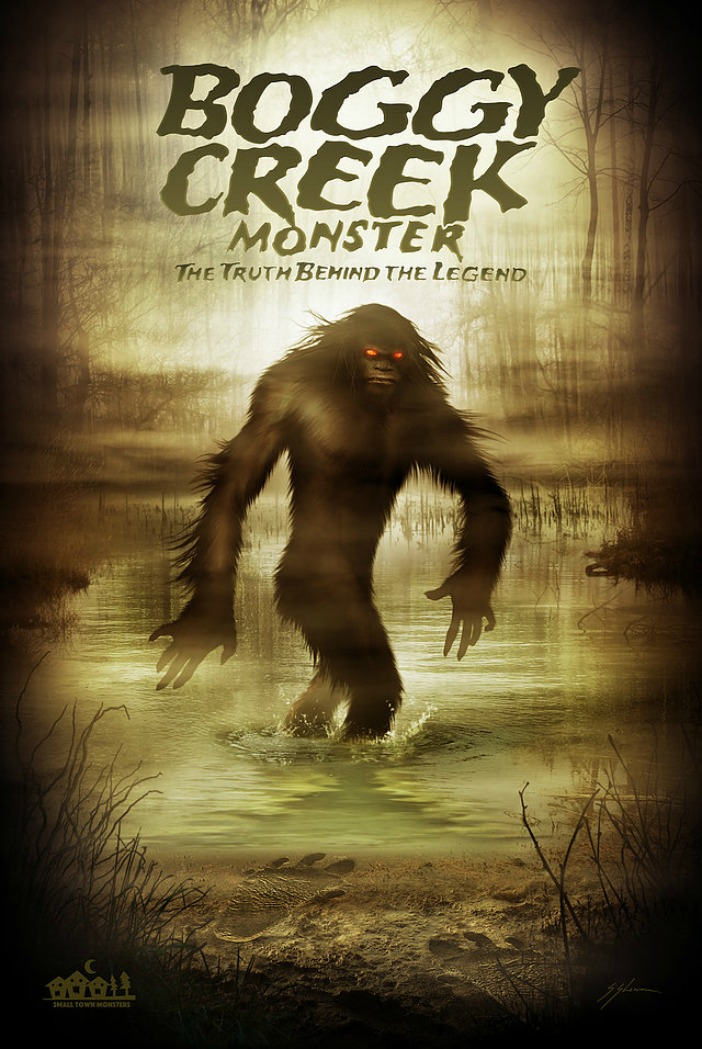 boggy creek poster