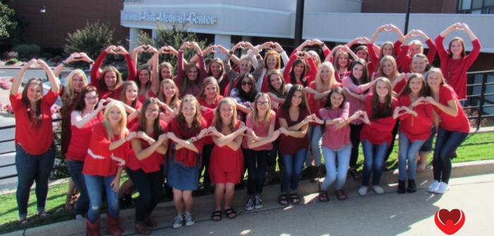Join the American Heart Association 'Texarkana Sweethearts'