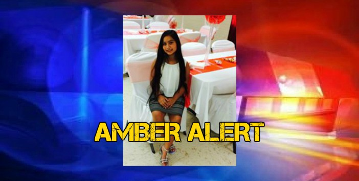 Amber Alert Issued Out of East Texas for 10 Year Old Girl