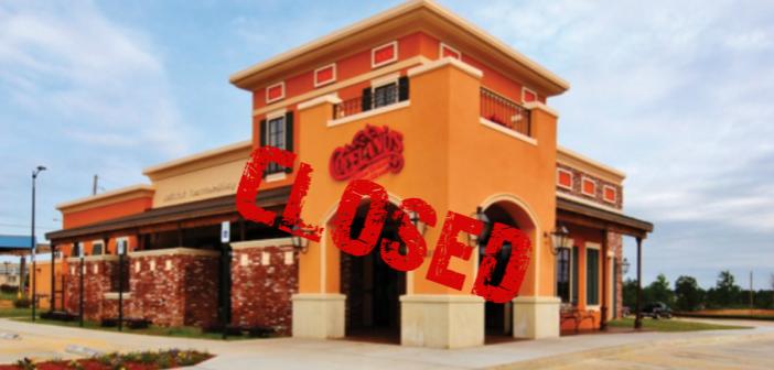 Copeland's of Texarkana Restaurant Closed for Business