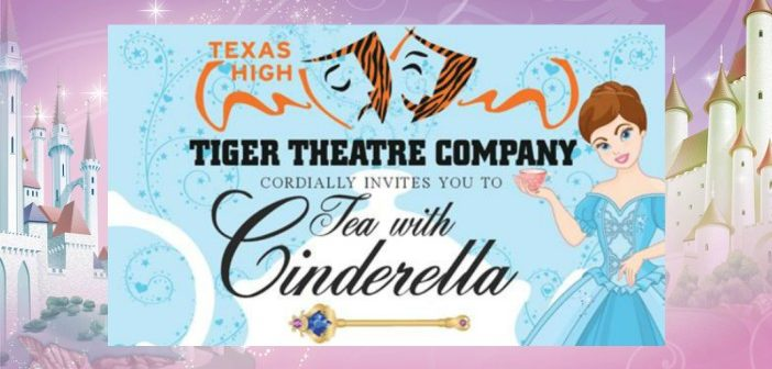 Invitation for 'Tea with Cinderella' on Saturday January 21