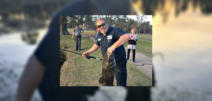 29 Pound Catfish Caught at Spring Lake Park [PHOTOS]