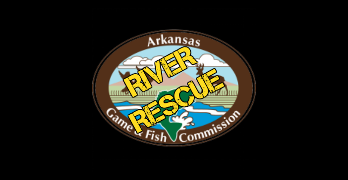 Arkansas game fish rescues texarkana group of nine from for Arkansas game fish