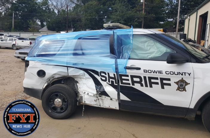 Damaged Vehicles from Bowie County Shooting Incident ...