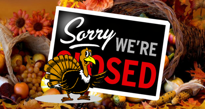 Image result for closed for thanksgiving