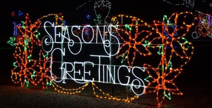 Drive Thru Christmas Lights.Local Family To Open Area S First Drive Thru Christmas