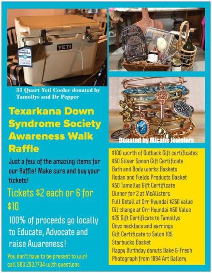 Texarkana Down Syndrome Society Annual Awareness Walk Is Saturday October 27 Texarkana Fyi
