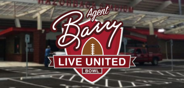 2018 Agent Barry Live United Bowl Schedule of Events