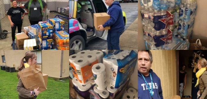 Local Groups Unite to Take Care of Area Elderly with Basic Supplies