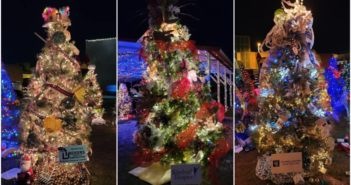 Winners Announced in Downtown Christmas Tree Decorating Contest