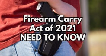 Texas Firearm Carry Act – Need to Know